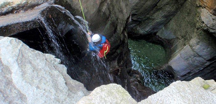 Canyoning für Fortgeschrittene - Natursinne Canjoning